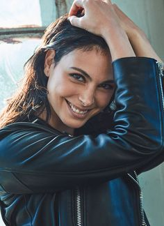 Morena Baccarin: Dad's jacket still fits like a glove. Even 15 years after he died