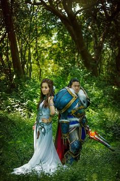This Couple Chose a World of Warcraft Theme for Their Wedding #Wedding #geeky