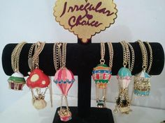 Irregular Choice hot air balloon jewelry