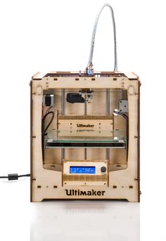 Ultimaker Original with HPB. #Ultimaker #3Dprinter