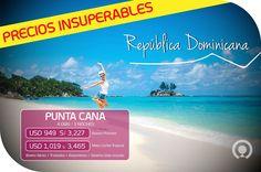 ¡República Dominicana lo tiene todo 🌴☀🎉 Vuela a Punta Cana! Esta gran oportunidad empieza aquí ➡http://goo.gl/Z9FciU Incluye: Boleto aéreo + Alojamiento + Alimentación