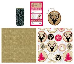 The Gift Wrap Company Premium Holiday Gift Wrap Kit with Labels, Tags and Twine, Ringing In The Season -- Awesome products selected by Anna Churchill