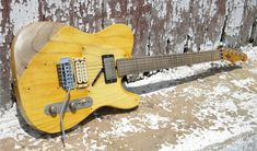 "RS Guitarworks-Old Friend ""Workhorse"" Making Musical Instruments, Cool Electric Guitars, Guitar Tuners, Better Music, Cheap Guitars, Fender Telecaster, Beautiful Guitars, Guitar Pedals, Vintage Guitars"