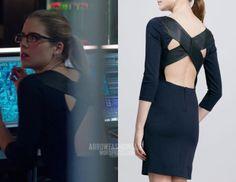 "Felicity wears Alice + Olivia in 2x10 ""Blast Radius"""