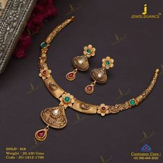 Get In Touch With us on Gold Mangalsutra Designs, Gold Earrings Designs, Necklace Designs, Antique Necklace, Indian Gold Necklace, Gold Necklaces, Indian Jewelry, Antique Jewelry, Gold Jewelry Simple