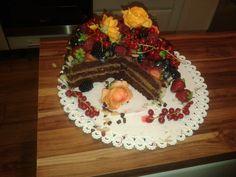 čokoládová torta s krémom z mascarpone a nutelou