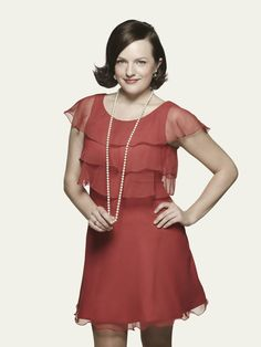 Pin for Later: Track the Beauty Evolution of Your Favorite Female Mad Men Characters Peggy: Season 7 Now that the '70s have peaked, Peggy is embracing feminine hemlines and flirty makeup to match.