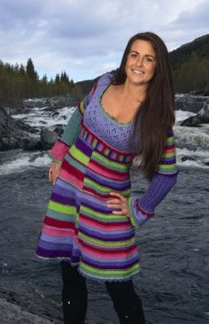 Knitted dress from Dale Garn