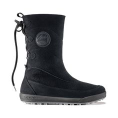 new styles 3b3e7 03f5d Dalarna Hi  Drawstring pull at top and retro graphics makes this a great  winter boot that s on-trend, perfect to wear with jeans or leggings. Pull  On Boots