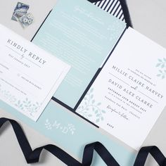 Alice botanical wedding invitations by Project Pretty Botanical Wedding Invitations, Wedding Stationery, Design Suites, Modern Typography, Personalized Invitations, You Are Invited, Envelope Liners, Rsvp, Alice