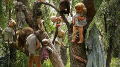 The trees of this island near Mexico City are strung with hundreds of dolls. The island's only inhabitant, Don Julian Santana, found the body of a girl in one of its canals more than 50 years ago. He found a doll floating in the same water and, in tribute, hung it on a tree — the first of thousands of dolls he would string up until 2001, when he drowned in the very same canal. Some believe the dolls, many of which are missing limbs, are evil; others believe they safeguard the island…