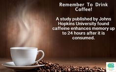A refreshing fact for coffee lovers everywhere.