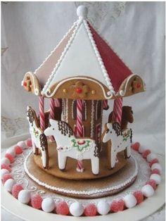 Gingerbread Carousel