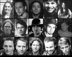 Pearl Jam through the ages...  Love the drummers montage ;-)