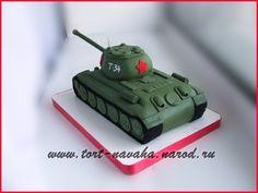 Очередной торт-танк Т-34 - Babyblog.ru