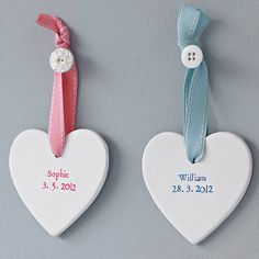 Thinking this might make sweet new baby presents for friends Sioned ap Gareth, via www.notonthehighstreet.com