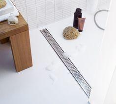 Griglia antiscivolamento per doccia: Quadratum by Tece