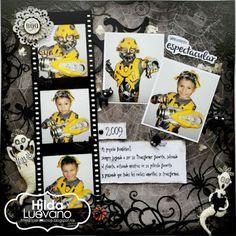 Hilda Designs: Reto de Octubre en PS: Lo' Halloween