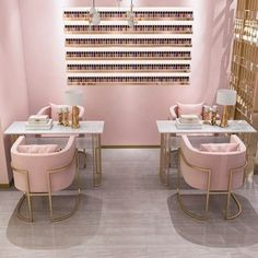 beauty Room salon - nail table manicure table and chair set table for nail salon Home Beauty Salon, Home Nail Salon, Nail Salon Design, Nail Salon Decor, Hair Salon Interior, Beauty Salon Decor, Salon Interior Design, Beauty Salon Design, Salon Nails