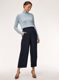 b2b6ebc397cea Faun pant. Soft Pants OutfitCropped PantsWide Leg ...