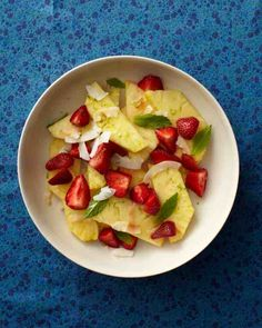 Feel like having an island adventure? Breakfast on this easy sweet treat for an insta-vacation.Get the Tropical Fruit Salad Recipe