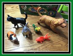 Learning Resources Jumbo Pets Review & Giveaway (US) 4/11 | Emily Reviews