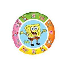 """Witajcie w Poniedziałek:)  45 cm Balon Foliowy 18"""" Sponge Bob ze znanej bajki dla dzieci napełniony Helem.  Super jakość - balon produkowany w Hiszpanii, co gwarantuje długą żywotność balonu.  Jak długo utrzymuje się w powietrzu? Sprawdźcie sami:)  http://www.niczchin.pl/balony-z-helem-dla-dzieci-krakow/2454-balon-foliowy-18-sponge-bob.html  #balony #balon #spongebob #zabawki #niczchin #krakow"""