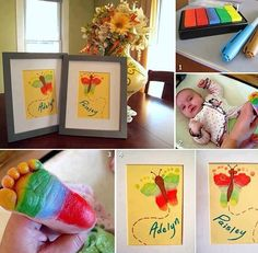 Cute, fun crafts for baby's