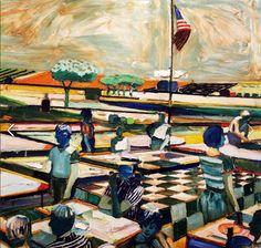 """[Roland Petersen, """"An American Picnic"""" (1967)] @crockerart"""