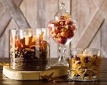 Zobacz zdjęcie Dekoracje w szklanych naczyniach