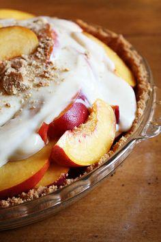 Grandma's Fresh Peach Pie