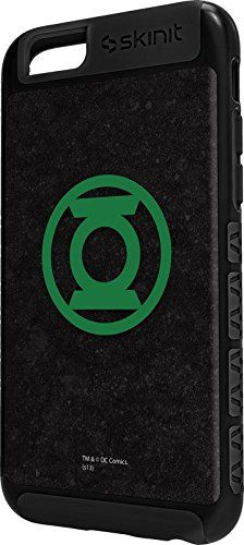 DC Comics Green Lantern iPhone 6 Cargo Case - Green Lantern Logo Black Cargo Case For Your iPhone 6. Built To Last - Tough iPhone 6 Cargo Case Made With A Double Layer Hard Shell & Rubber Liner Protection. Offically Licensed Green Lantern Case Design. Industry Leading Vivid Color Vinyl Print Technology. Textured Sidewalls - For Added Comfort & Enhanced iPhone 6 Grip. Precision iPhone 6 Fit - Increasing Protection Without Sacrificing Function.