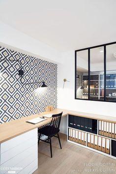 Super Home Design Studio Office Ideas Design Studio Office, Workspace Design, Office Interior Design, Office Interiors, Bureau Design, Studio Studio, House Studio, Office Designs, Modern Interior