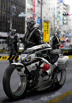 Neo Japan 2202 - Shirobai - Future motorcycle concept