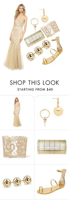 """""""Designer set"""" by racheal-taylor ❤ liked on Polyvore featuring Badgley Mischka, Amber Sceats, Valentino, Elie Saab, Noir Jewelry and Giuseppe Zanotti"""