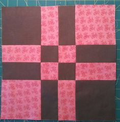 Big Nutty Quilter: Disappearing 4-patch Block Variation Tutorial
