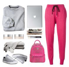 """""""and now... relax"""" by bodangela ❤ liked on Polyvore featuring Markus Lupfer, Converse, MCM and RMK"""