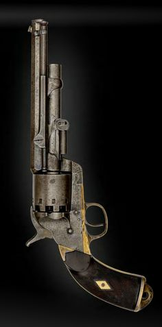 Historically important Serial No. 2 leMat Krider Percussion Revolver Used in the…