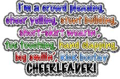 funny cheerleading quotes - Google Search