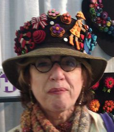 """Custom-made by Danielle Gori-Montanelli  """"My Life as a Hat"""""""