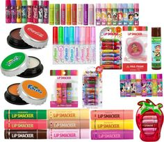 Lip Smackers! Favorite! Made in USA and still the best lip gloss ever! For any girl, not just little girls!