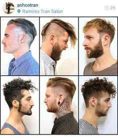 Long on top - Men's hair