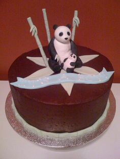 Baby Shower Panda by Pacific Pastries, via Flickr