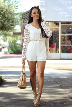 The White Romper + ThanksGiving Giveaway