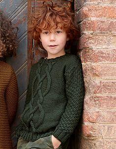 pattern knit crochet kids sweater autumn winter katia 5996 35 g Kids Knitting Patterns, Baby Cardigan Knitting Pattern, Knitting For Kids, Baby Knitting, Diy Crafts Knitting, Pirate Kids, Pull Bebe, Baby Pullover, Boys Sweaters
