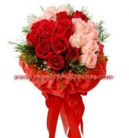 Sweet and deep in love 24 Selected Pink and Red Roses, sweet and deeply in love.   You can send your inquiry:  Email: info@regalomanila.com Contact us: +63-02-413-2273 Website: Regalomanila http://regalomanila.com. Facebook: Regalomanila.com fan page