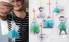 Paper decorations, diy crafts for kids, diy craft projects, craft tutorials Diy Craft Projects, Craft Tutorials, Diy Crafts For Kids, Arts And Crafts, Paper Crafts, Kids Diy, Honeycomb Decorations, Paper Decorations, Honeycomb Paper