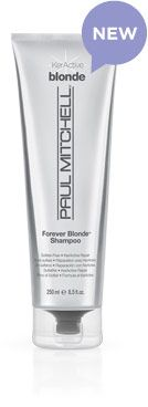 """Forever Blonde Shampoo - Gently cleanses and keeps blonde hair light, bright and healthy! The KerActive protein blend """"hugs"""" the hair to help repair damage."""