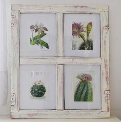 Reciclar: de ventana a marco {DIY}: Vero Palazzo - Home Deco