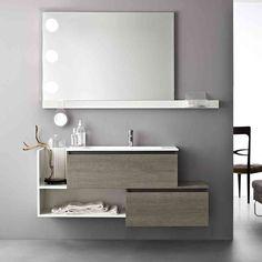 #Joy di @cerasabagni, #design minimal e moderno è una soluzione semplice e compatta adatta per bagni dallo stile contemporaneo e giovane. www.gasparinionline.it - #bagno #interiors #home #style #furniture #brescia #weloveit #picoftheday